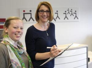 Hintergründe zum Jobsucher-Podcast mit Janine Sohnsmeier und Melanie Johst