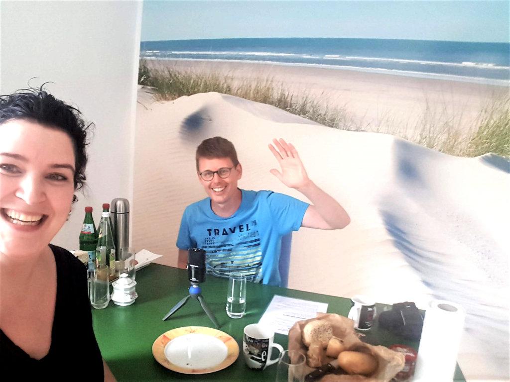 Frühstück mit Nina Eckhardt