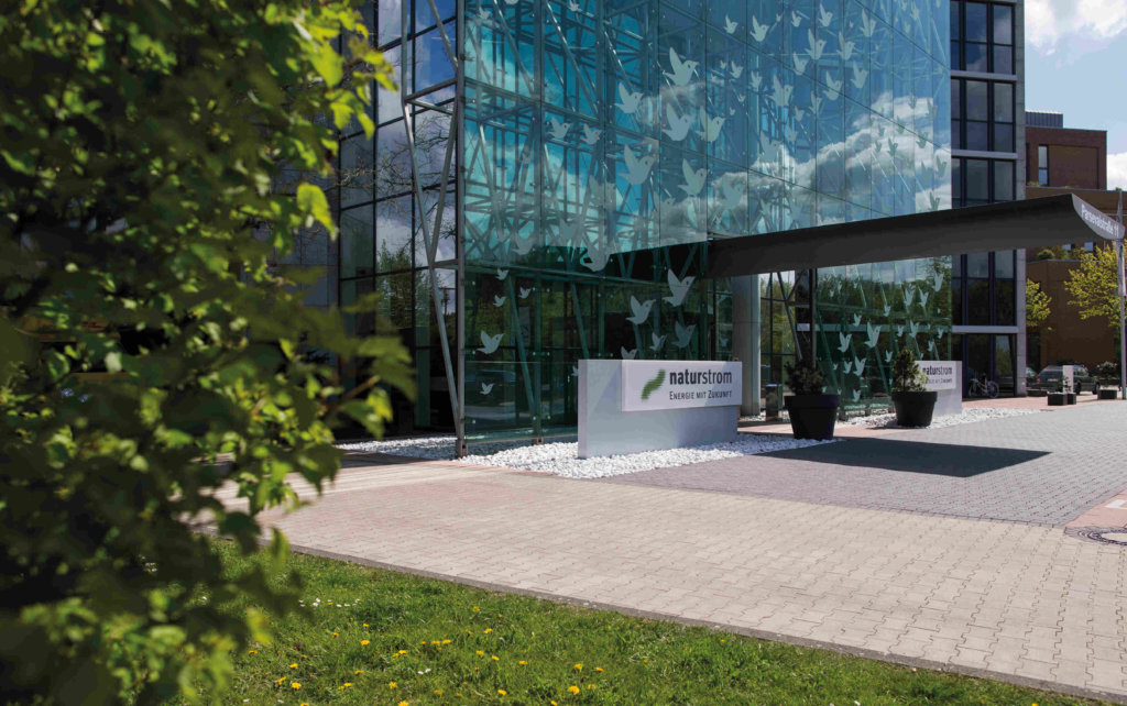 Naturstrom Bürogebäude Düsseldorf