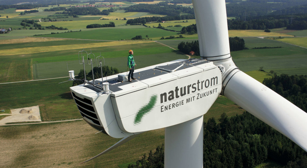 Naturstrom Windkraft